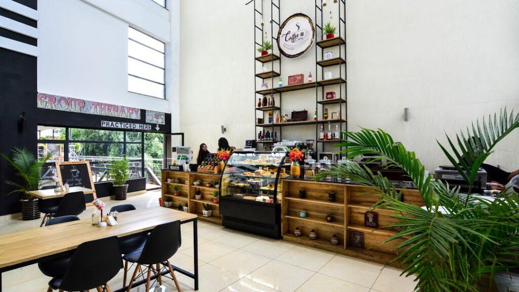 My top five restaurant in Nairobi. Coffee Casa