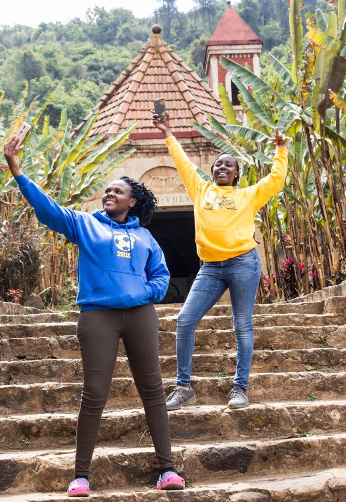 Glamping in Kenya Lake elementaita hot springs. Smallest church in kenya