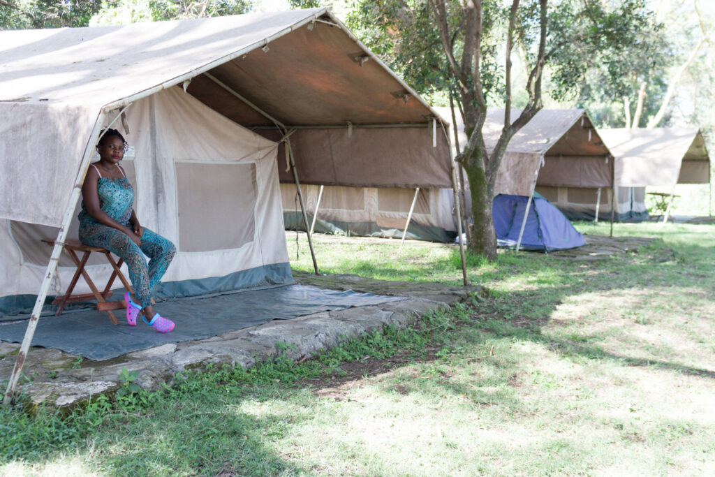 Glamping in Kenya Lake elementaita