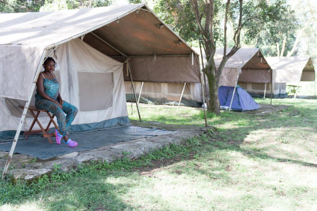 Glamping in Kenya Lake elementaita