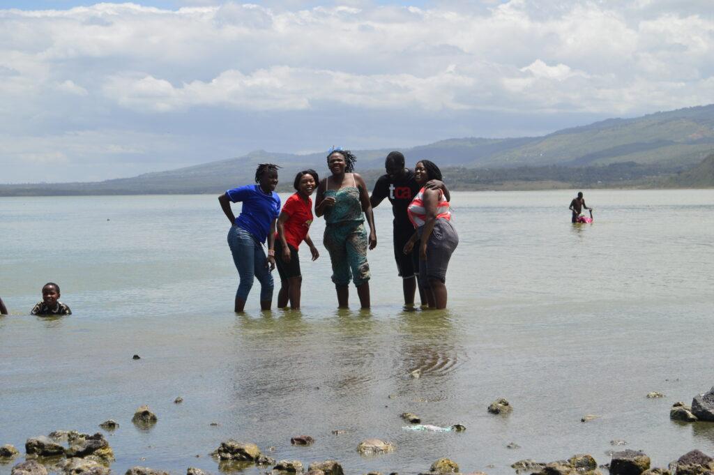Glamping in Kenya Lake elementaita hot springs.