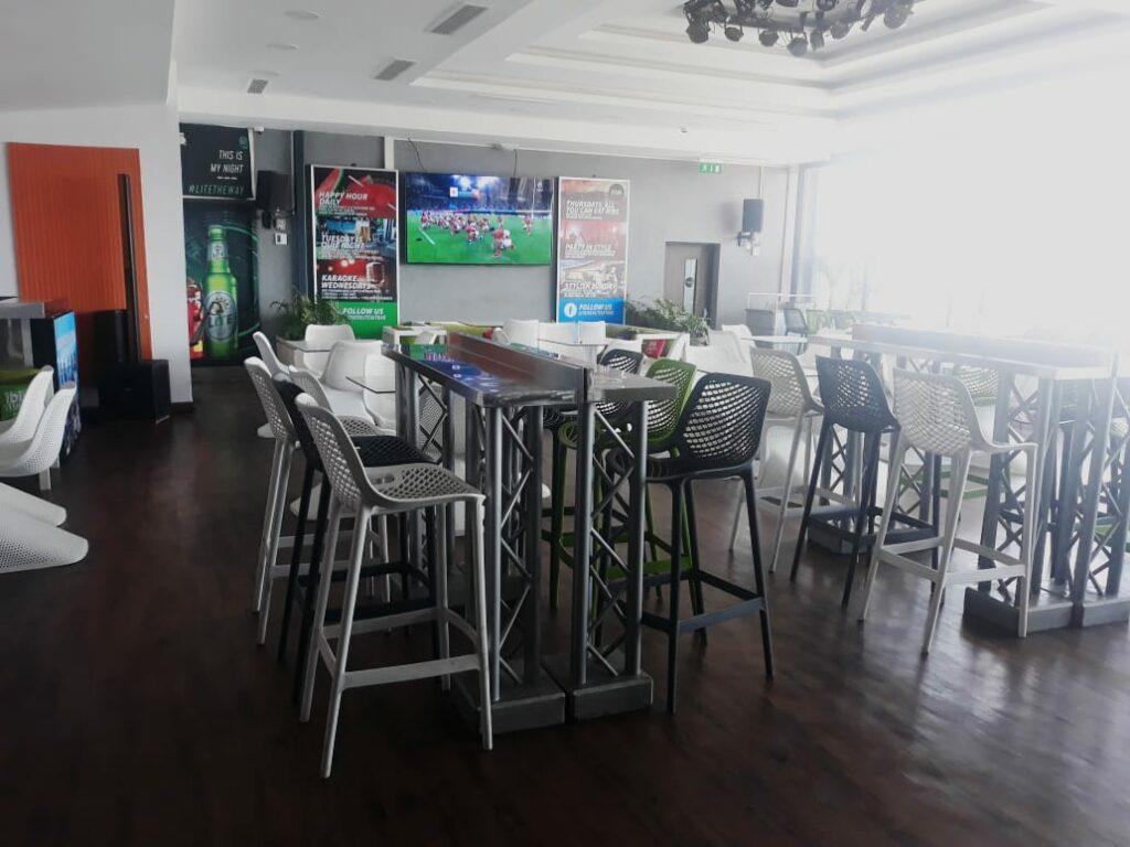 Ibis style hotel westlands  Tusker lite sky bar