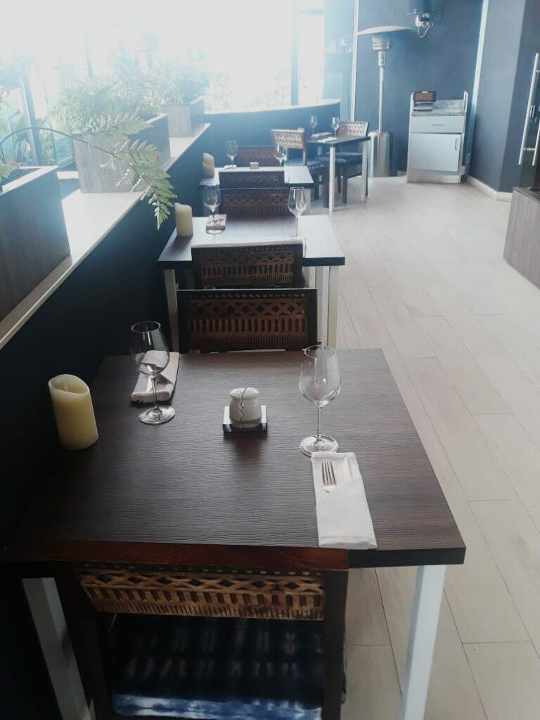 Ibis style hotel westlands  Kilele nyama restaurant.