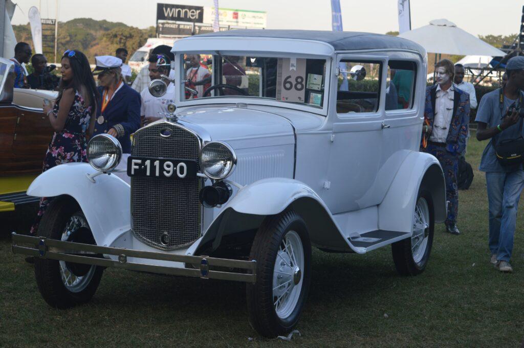 Concours d'elegance 2019 winner 1930 ford model. John Wroe