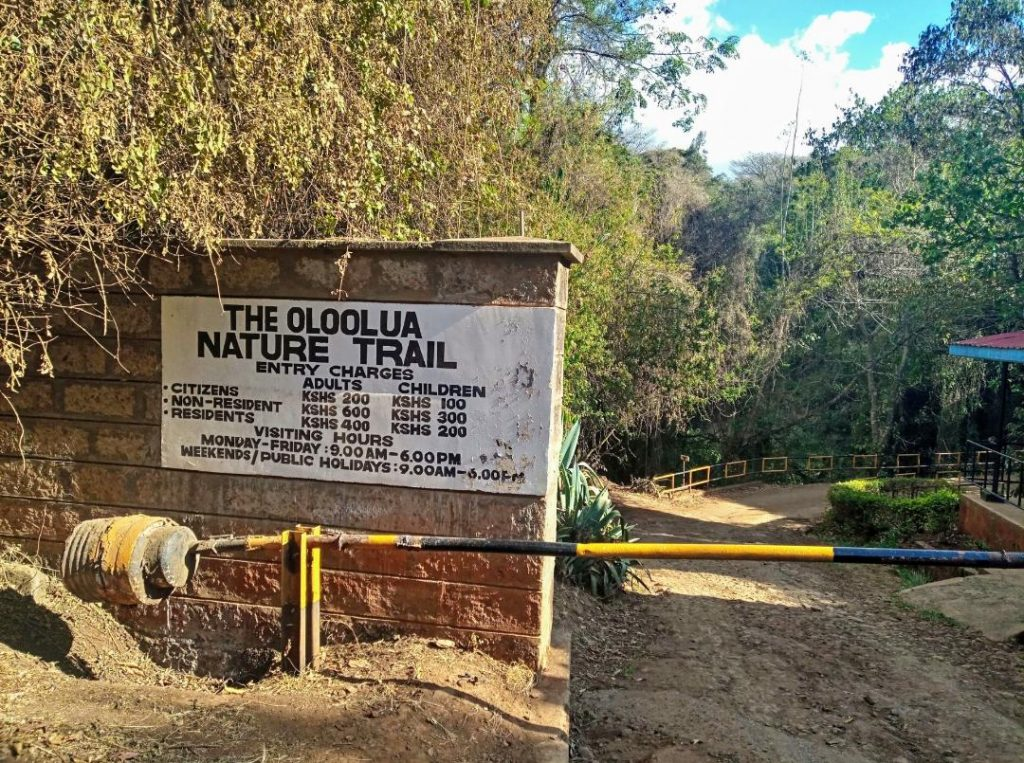Affordable picnic sites in Nairobi,  Oloolua Nature Trail