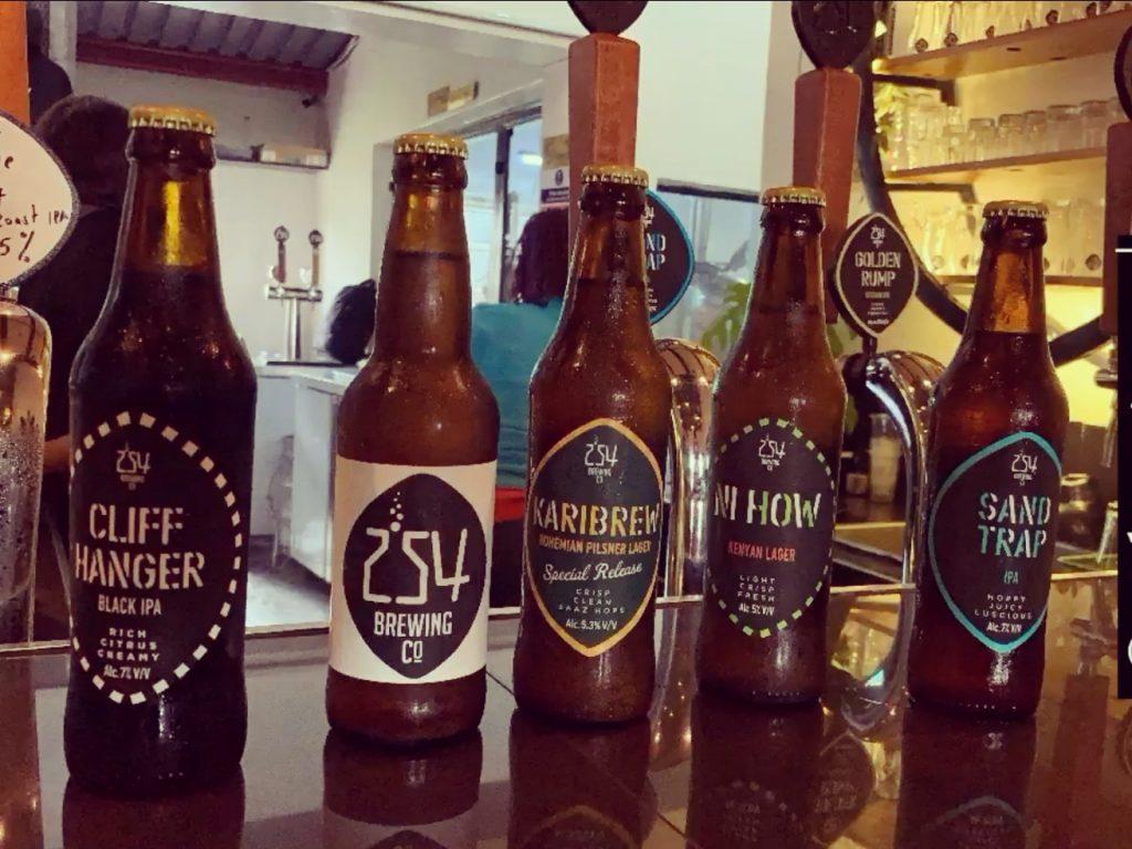 254 Brewing Co  Best Craft beer in Nairobi